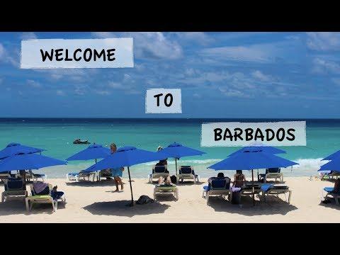 TRAVEL VLOG Ep.2 | BARBADOS 2017 | HOUSE TOUR + BEACH