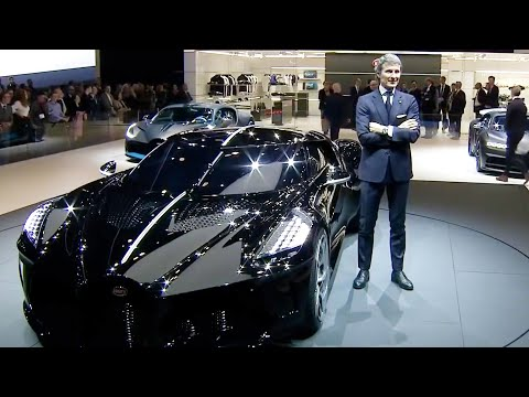 Bugatti at the Geneva Motor Show 2019, La Voiture Noire Pres