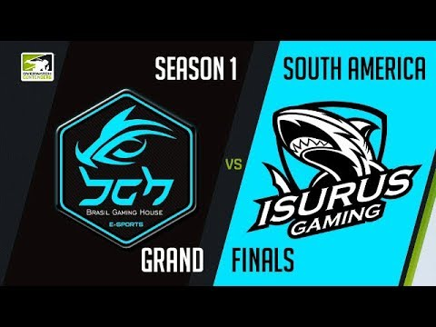 [POR] BGH vs Isurus Gaming (Part 1) | OWC 2018 Season 1: South America [Grand Finals]