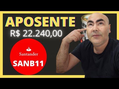 Aposente com Santander (SANB11) e Bora Ganhar Dividendos I Construa renda passiva com TOP AÇÕES