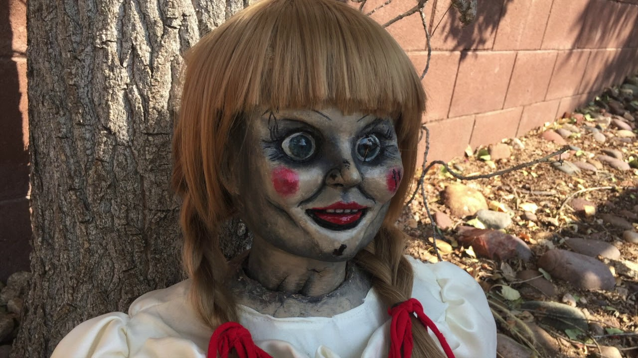 Annabelle Doll 1 1 Scale Replica Prop Youtube
