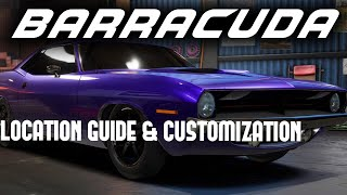 Need For Speed Payback Abandoned Car #10 - Plymouth Barracuda - Location Guide & Customization!!