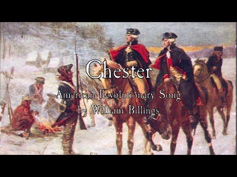 American Revolutionary Song: Chester - William Billings