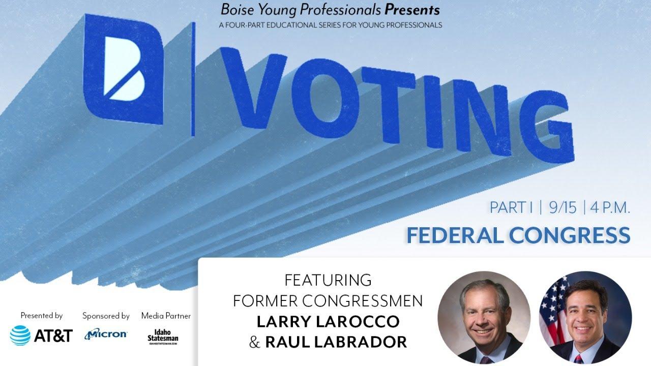 B Voting Series: Congressional Forum