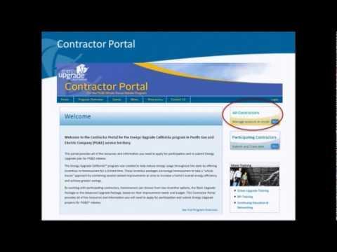 Webinar for Participating Contractors