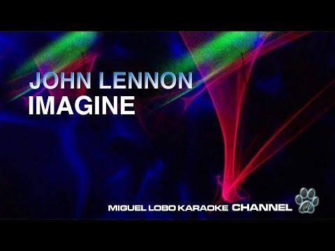 JOHN LENNON - IMAGINE - [KARAOKE] Miguel Lobo