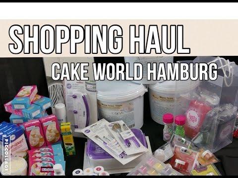 Shopping HAUL ♥ | Cake World Hamburg 2016 | meine Eindrücke