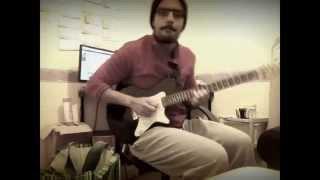 Ever Since i was a little kid Cover - Guitar loop - Bernhoft (Amine Autoreverse)