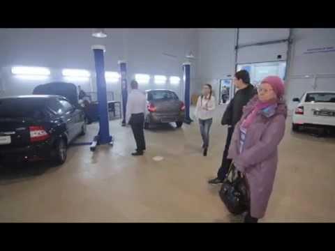 Открытие автосалона Ваз