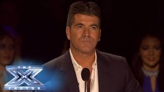 Simon Can Only Pick Three - THE X FACTOR USA 2013