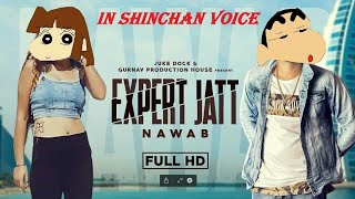 Expert jatt song in shinchan voice ( OFFICIAL VIDEO ) by Hilarious Dubbing