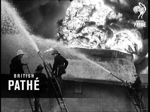 Oil Disaster At Avonmouth (1951)