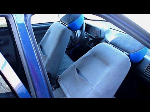 Как откинуть ( сложить ) спинки передних сидений ВАЗ 2109, 2110, приора и др. DoRABOTKA