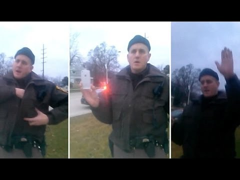 Caught on Video: Cop Stops Black Man For…Walking in the Cold With His Hands in His Pocket?!