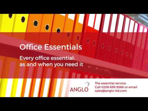 Office Essentials | Anglo