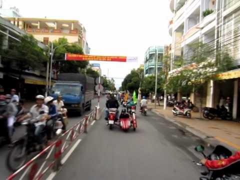 Diễu hành ở Mỹ Tho- Tiền Giang- 18-8-2012
