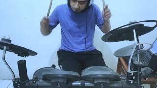 Ahmad Band Distorsi Drum Cover