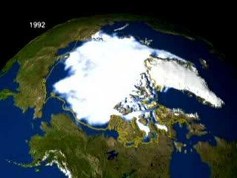 Polar Ice Cap Melting YouTube