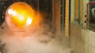 Ariane 6: Vinci engine hot fire test