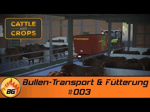 Cattle and Crops #003 | Bullen-Transport & Fütterung | Let's Play [HD]