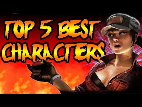 Top 5 BEST Zombie Characters! Call of Duty Zombies TOP 5 Black Ops 3, Black Ops 2 & World at War