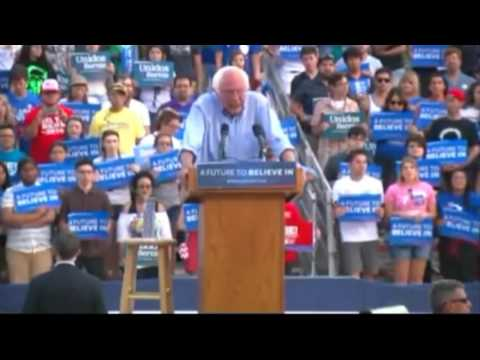 Full Speech  Bernie Sanders Bakersfield California Rally at Kern County Fairgrounds 5 28 16