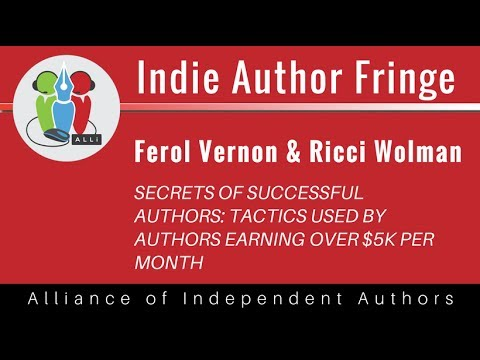 Secrets of Successful Authors: Tactics used by Authors Earning over $5k per Month: Ricci Wolman...