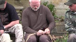 How to Make Plant Fiber Cordage for Wilderness Survival Part 2, Equip 2 Endure