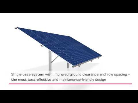 Ground-mount system safeFix Steel