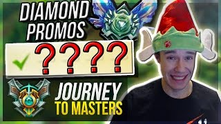 DIAMOND PROMOS!! | SantaMercy $50 RP - Journey To Masters #9 S7 - League of Legends