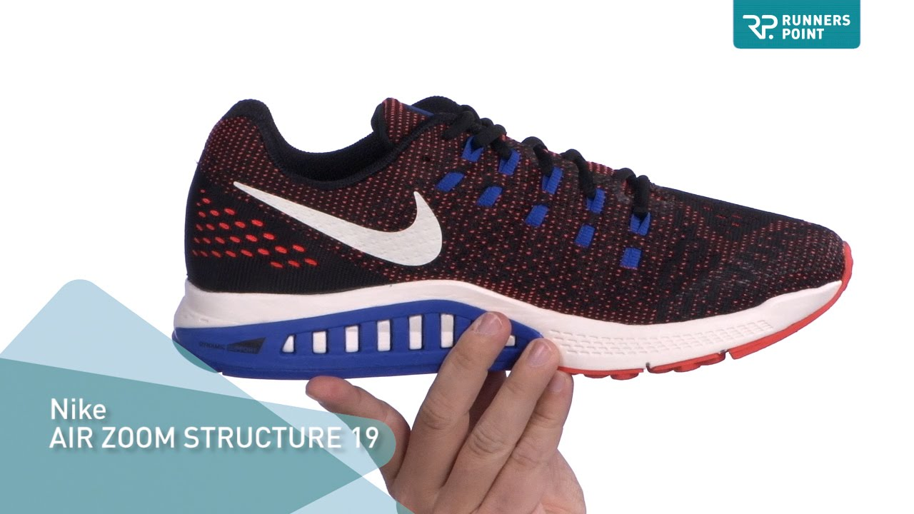 684e58ff6729e Nike AIR ZOOM STRUCTURE 19 - YouTube