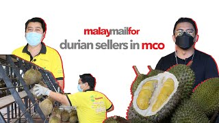 Klang Valley durian sellers relying on delivery to survive pandemic