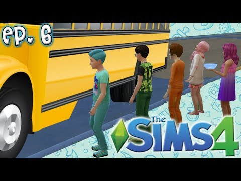 FIRST DAY OF SCHOOL  The Sims 4: Raising YouTubers Miniseries  Ep 6
