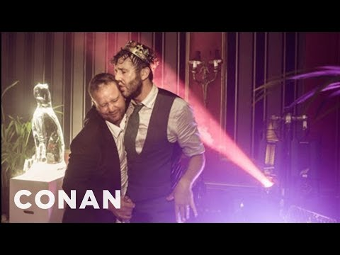 Chris O'Dowd Had A Very Tipsy Wedding  CONAN on TBS