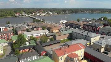 Kristiinankaupunki - Kristinestad filmed with Drone