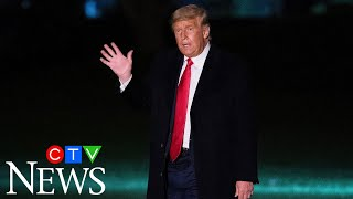U.S President Trump reportedly walked out of CBS interview