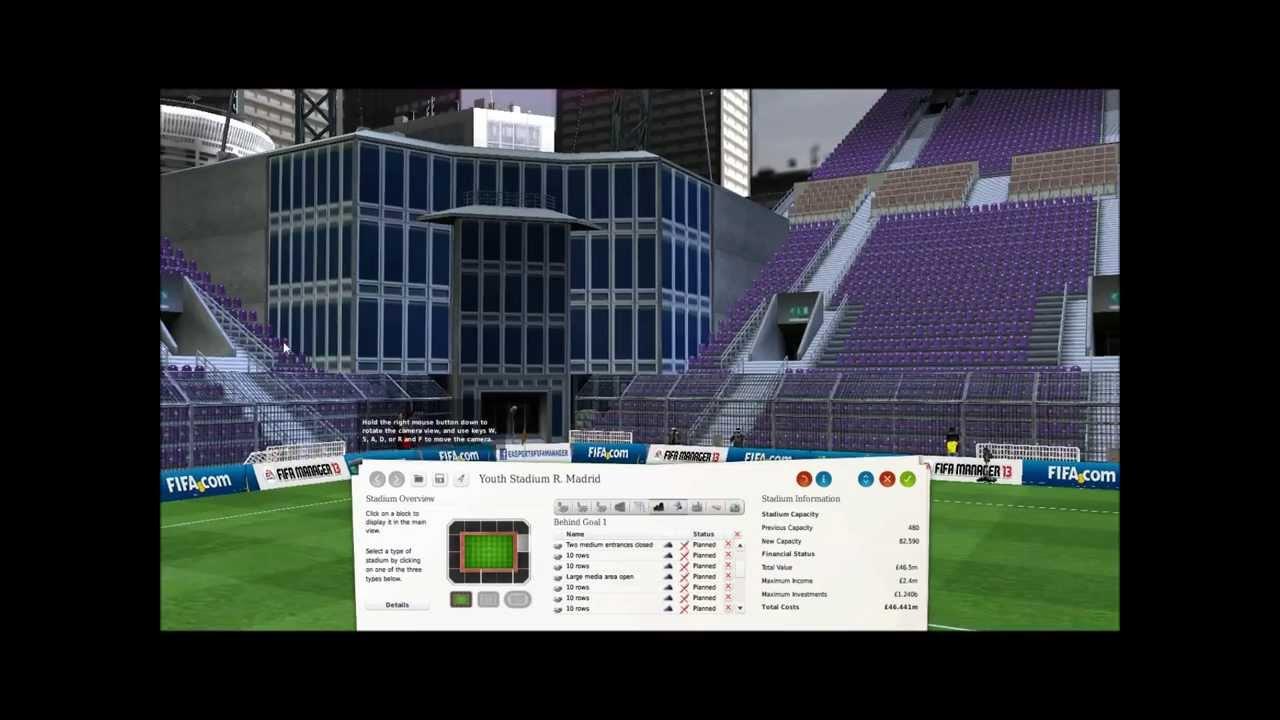 Fm virtual stadium tour lets build custom large and for Free virtual builder