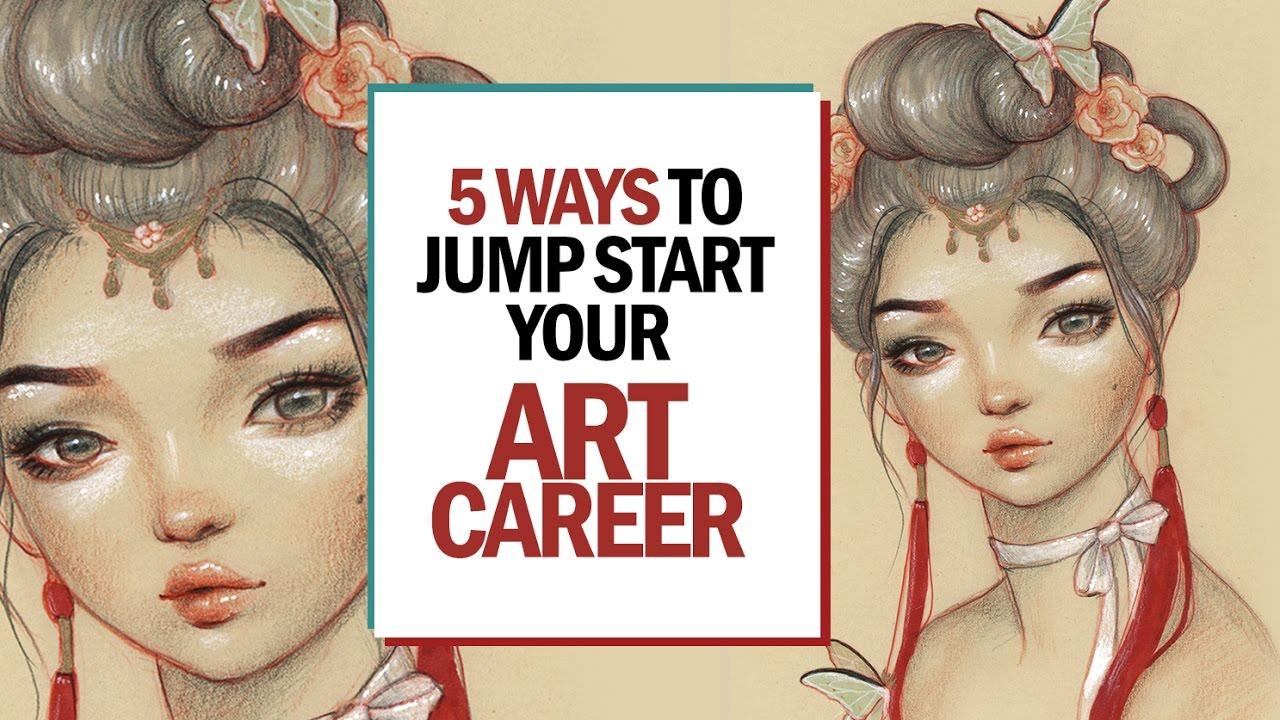 5 ways to jump start your art career 30 days of art episode 22 youtube. Black Bedroom Furniture Sets. Home Design Ideas