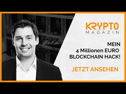 Blockchain & Bitcoin -  Der 4 Millionen Euro Hack - Bitcoin Hack, Blockchain Hack