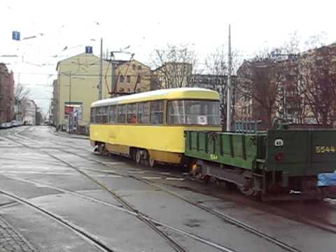 strassenbahn leipzig tatra g terwagen youtube. Black Bedroom Furniture Sets. Home Design Ideas