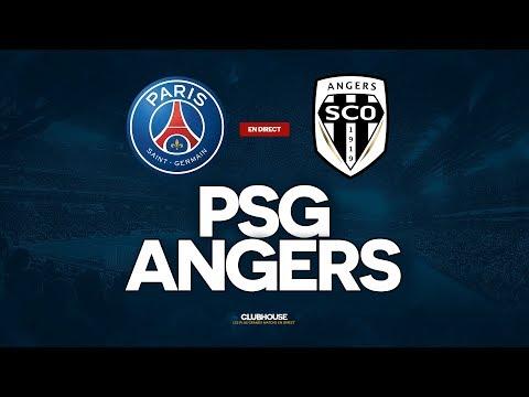 🔴 PSG - ANGERS // ClubHouse (PARIS Vs SCO)