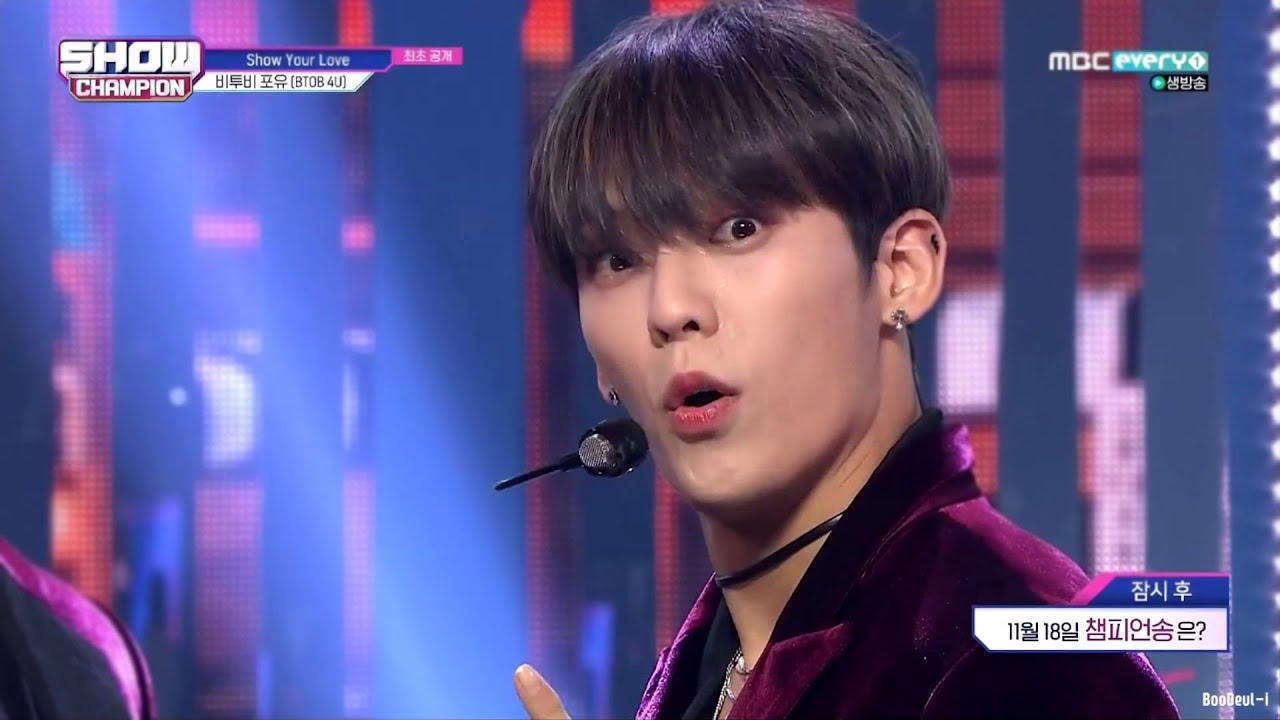 비투비 포유 (BTOB 4U) - Show Your Love 교차편집(Stage Mix)