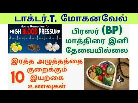 3 Top10 Food High Blood Pressure Control Diet Tamil Natural