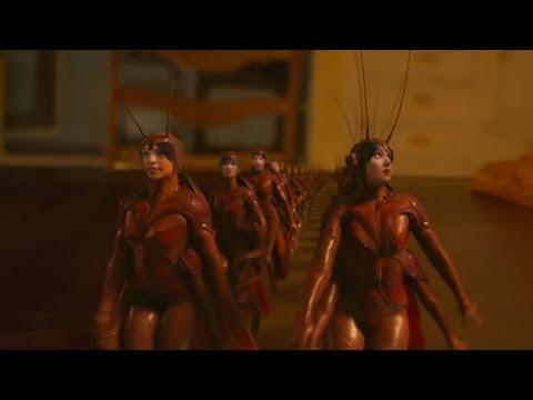 Cats (2019) Cockroach Scene