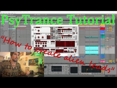 Psytrance Tutorial - How to make Alien Leads with FM (Sous-titres Français!!!)