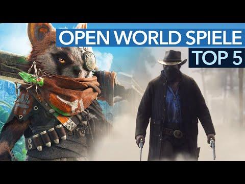 Top Open-World-Spiele 2018 -  Groß, größer, Open World (Gameplay)