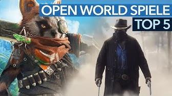 5 spannende Open-World-Spiele für 2018 - PC, PS4 und Xbox One