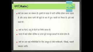 Natural Resources Hindi