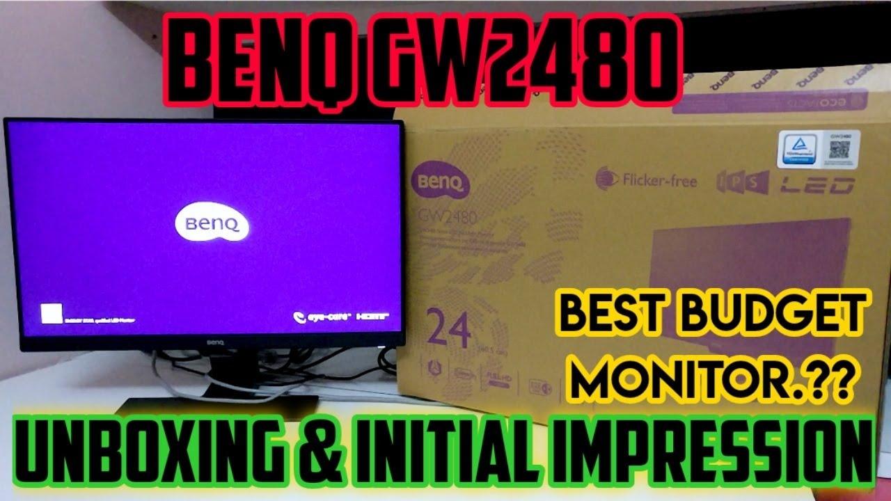 BenQ GW2480 Unboxing | BenQ GW2480 IPS 1080P 24inch FHD ...