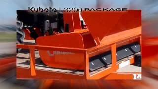 Kubota L3200 Packages